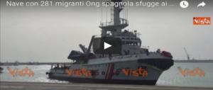 Sbarco a Pozzallo, una provocazione delle Ong. Gasparri: c'è un codice, va rispettato (VIDEO)