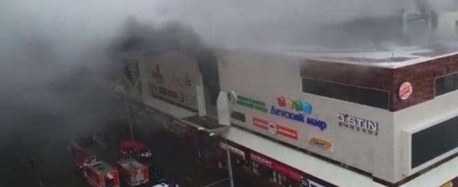 Strage di bambini in Siberia: ne muoiono 41 nell'incendio in un centro commerciale