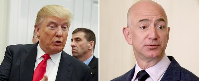 Trump ha dichiarato guerra ad Amazon, ecco perché ce l'ha con Bezos