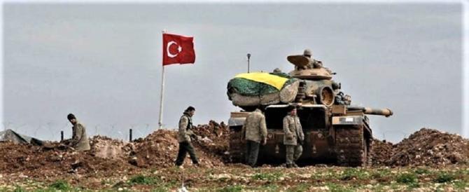 La Turchia è un pericolo per l'Europa: si giustifica per l'invasione della Siria