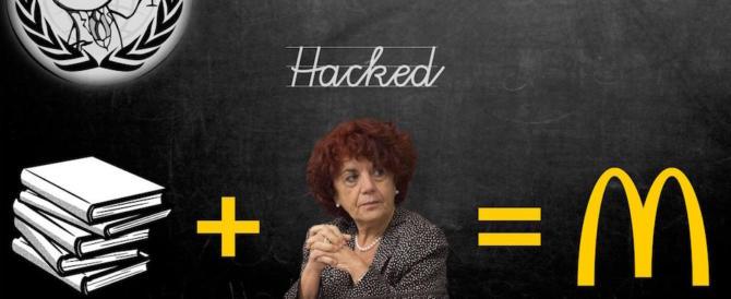 Anonymous attacca il Miur: rubati i dati di 26mila insegnanti