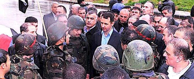 Siria, l'esercito del presidente Assad porta in salvo i civili dal Ghouta est