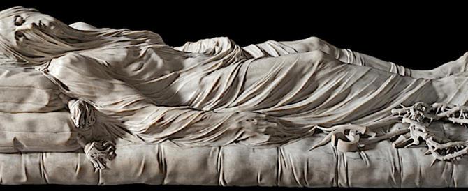 Berlusconi a Napoli incantato dal Cristo Velato alla Cappella Sansevero