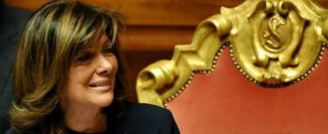 """La Casellati """"prende a schiaffi"""" la Boldrini: «Chiamatemi presidente» (video)"""