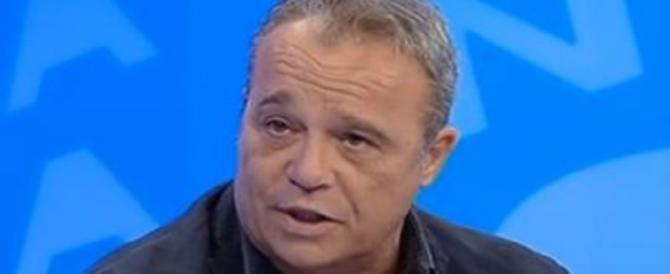"""Il """"compagno"""" Claudio Amendola elogia Salvini: «È il più capace»"""