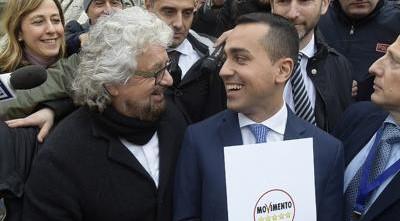 Grillo e Di Maio corteggiano Salvini: «Quando dice una cosa la mantiene»
