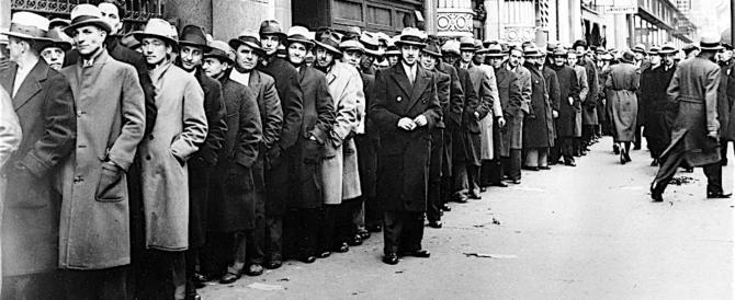 L'Italia ancora in cima alla lista dei disoccupati nell'Unione europea