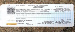 """Gaffe M5s: """"Viaggio in economy"""". Ma posta un biglietto di 1a classe"""