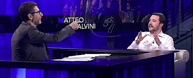Salvini e la vendetta su Fazio: «Mi ha invitato, ho detto no: chiami Saviano…»