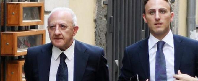 Il figlio di De Luca bocciato e ripescato. Ai danni di Caserta, rimasta senza deputato…