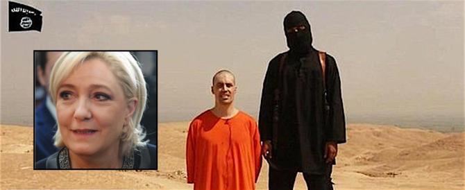 Pubblicò la foto di una decapitazione dell'Isis: chiesti 3 anni per Marine Le Pen