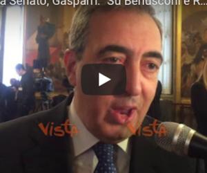 Gasparri: «Assurdi i veti messi dai Cinquestelle su Berlusconi e Romani» (video)