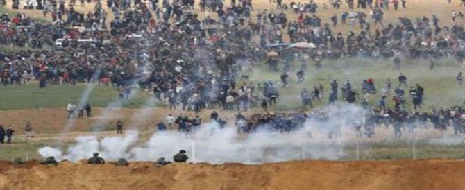 Gaza, almeno 7 morti e oltre 500 feriti negli scontri al confine con Israele