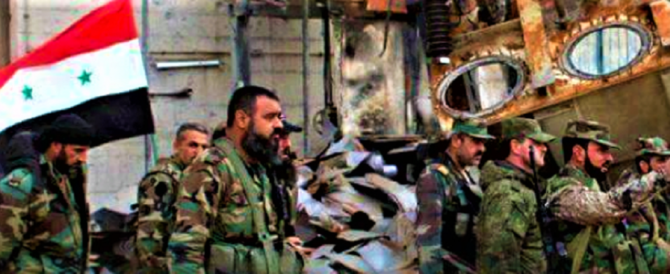 Assad sta stringendo il cerchio intorno ai terroristi islamici nel Ghouta