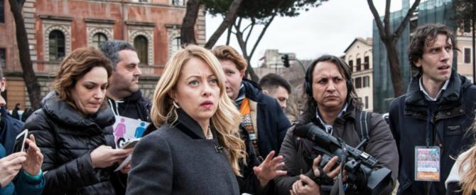 Giorgia Meloni: «Andrà meglio di quanto si pensi, ci saranno sorprese»