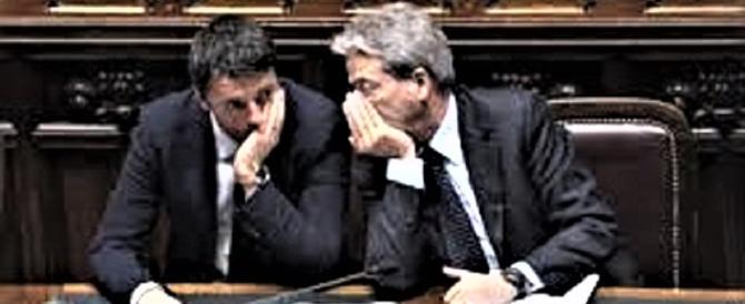 Il regalo del governo Renzi-Gentiloni: il Pil italiano a -5,5% rispetto al 2007