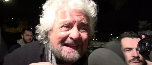Grillo: «Governo con Salvini? Non so, decidono i ragazzi» (video)