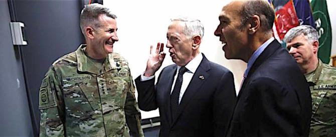 """Jim Mattis possibilista in Afghanistan: """"Tutte le guerre hanno una fine…"""""""