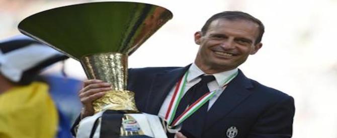 """Calcio, Massimiliano Allegri vince la sua quarta """"Panchina d'oro"""""""