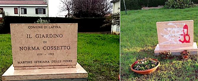 Latina: già ripulita la lapide a Norma Cossetto, sfregiata dagli antifascisti