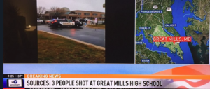 Sparatoria in un liceo del Maryland: colpiti tre studenti (video)