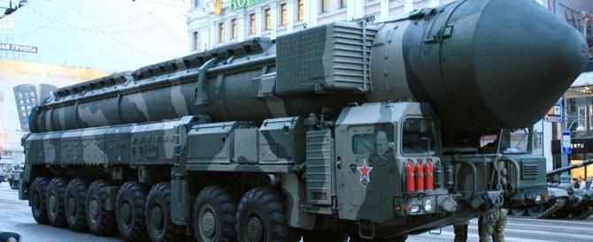 Missili russi, sale la tensione. La Nato: «Inacettabili le minacce di Putin»