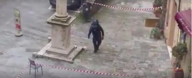 Bravata o minaccia? A Montepulciano le bombe sono due e non si sa di chi siano