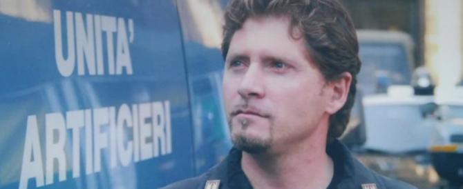 """Poliziotto morto nel rogo della caserma a Firenze: un """"eroe"""" di cui nessuno parlerà…"""