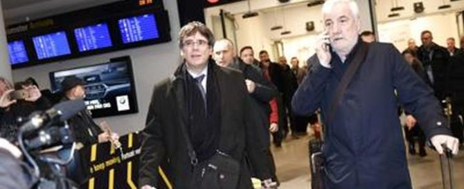 Mandato di arresto europeo per Puigdemont: fermato in Germania