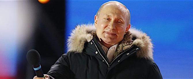 Putin dei record ringrazia i russi e incontra i suoi competitor (video)