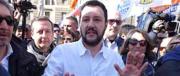 """Il 25 aprile di Salvini: assassini di Pamela, ecco da chi occorre """"liberarsi"""""""