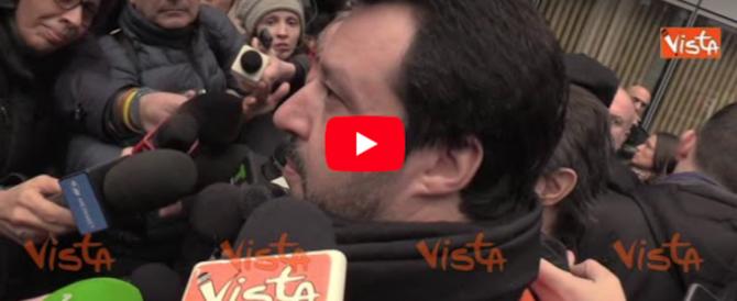 Salvini lancia l'Opa sugli elettori di sinistra: «Intercetteremo anche loro» (video)