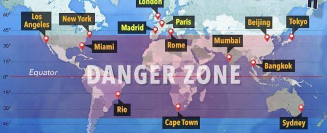 Week end di Pasqua col pericolo caduta satellite: aggiornamenti in tempo reale