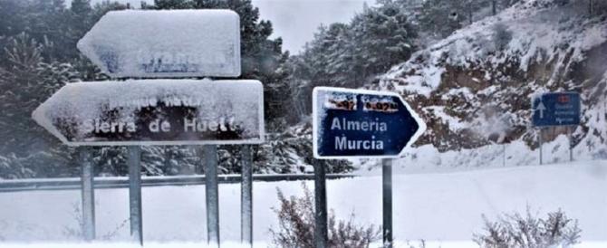 Anche la Spagna fa i conti con Burian: un morto, scuole e aeroporti chiusi