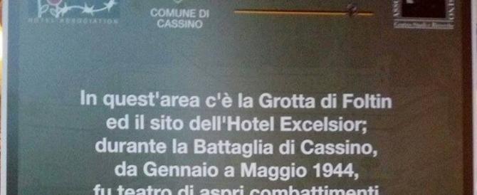 La stele per i parà nazisti a Cassino? Una fake new, ma Zingaretti non lo sa