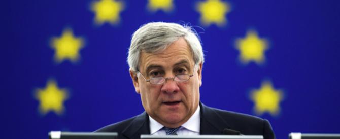"""Passo indietro di Tajani: """"Resto al parlamento europeo"""""""