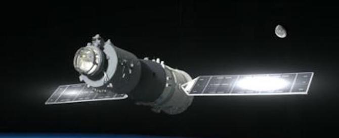 Allerta per la stazione spaziale cinese: «A Pasqua potrebbe cadere in l'Italia»