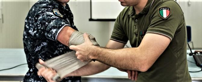 Intensa attività dei medici militari italiani per la popolazione libanese