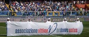 """""""Fai gol con la legalità"""". Negli stadi in campo l'Associazione vittime del dovere (video)"""