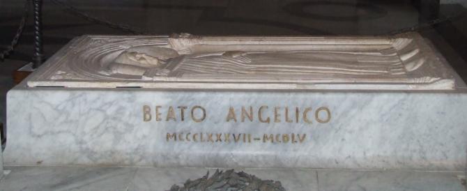 Roma, nuovo scempio: sfregiata la tomba del Beato Angelico
