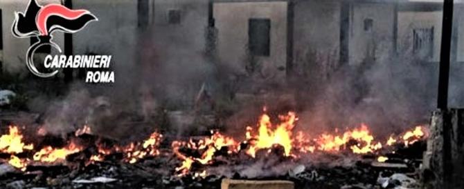 Nuovo incendio al campo rom a Castel Romano. Benvenuti: va trasferito