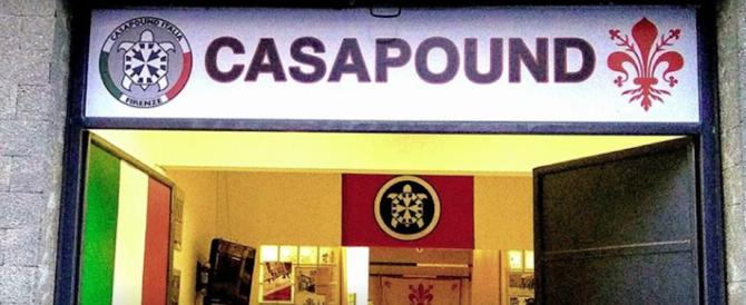 Esplosione nella notte davanti alla sede di CasaPound a Firenze