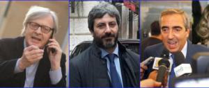 Lo scandalo della colf travolge Fico. Gasparri e Sgarbi: «Deve vergognarsi» (VIDEO)