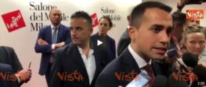 """E Di Maio """"corteggia"""" sempre Salvini: «Con lui si può fare buon lavoro» (video)"""