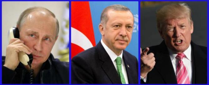 Entra in campo Erdogan: parlerò con Putin per fermare il massacro chimico