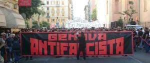 Manifestazioni contro CasaPound a Genova, denunciati sette antifascisti