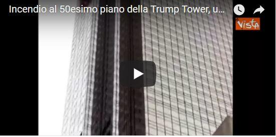 "Incendio alla Trump Tower: 1 morto, 4 pompieri feriti. E c'è chi si bea dell'""impero in fumo"" (VIDEO)"