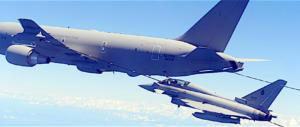***ultim'ora***Aereocisterna italiana sta rifornendo aerei sul cielo giordano