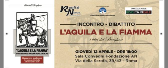 """""""L'Aquila e la Fiamma"""": il 12 aprile il dibattito alla Fondazione di An"""