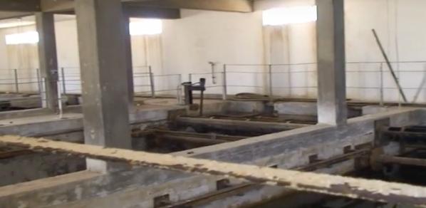 Lampedusa, gli interni devastati del vecchio depuratore che ha inquinato il bellissimo mare